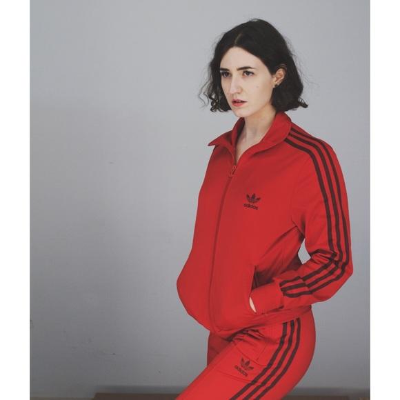 Adidas Pants - Red + Maroon Adidas Tracksuit b49e8d56c