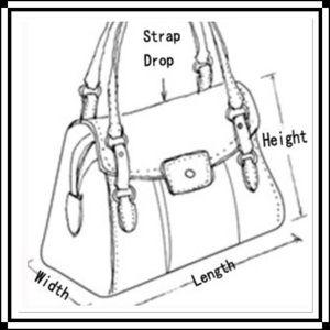 Handbags - How To Measure Your Handbag.
