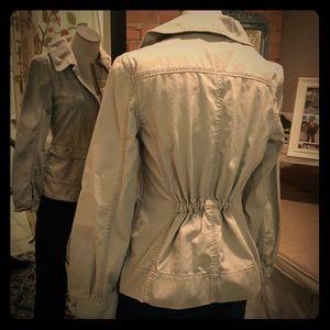 G1 Goods  Jackets & Blazers - G1 Goods Light Khaki Military Jacket