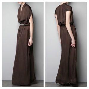ZARA Grecian Maxi Dress
