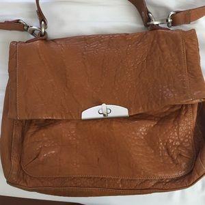Leather messenger/satchel bag