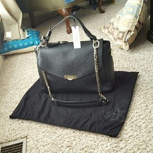 8499fbe1a9 Versace Bags -  Trade  Versace Pebbled Leather Large Satchel