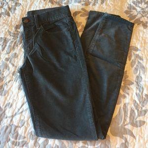 Gap Grey Corduroy Legging Jean