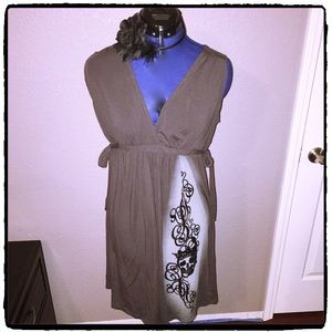 disneyland Dresses & Skirts - Gray knit dress