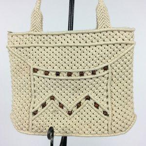 Handbags - Vintage Cream Purse