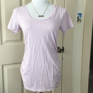 Old Navy Tops - Light Purple Old Navy Relaxed Maternity TShirt Med