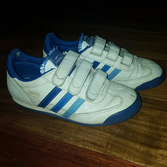 Old school velcro Adidas shoes