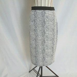 Pixley Dresses & Skirts - Navy and white skirt
