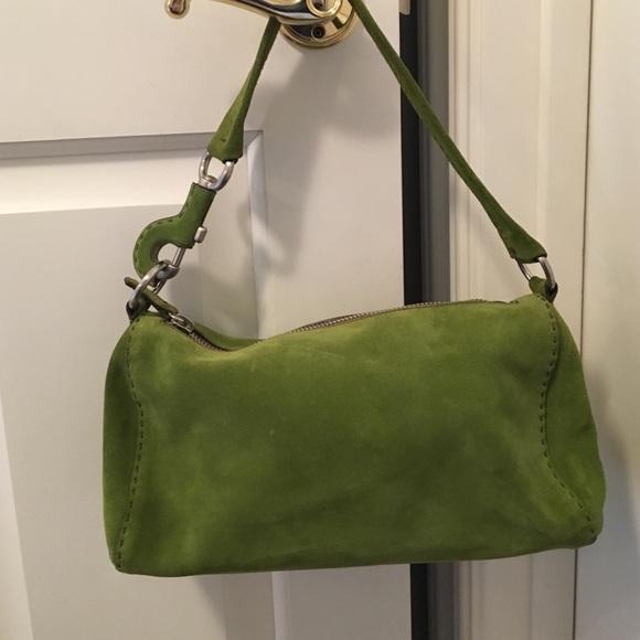 Green Prada Bag