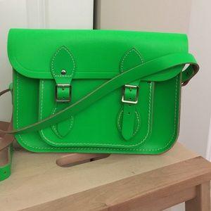 Cambridge Satchel Handbags - New Cambridge Satchel in neon green