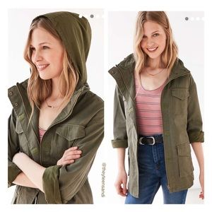 Urban Outfitters BDG 4-Pocket Camo Utility Jacket