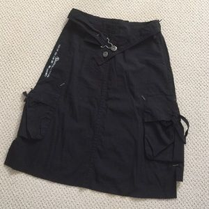 Jean Bourget Other - Black cargo skirt