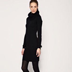 BCBGMaxazria Cowl Neck Sweater Dress