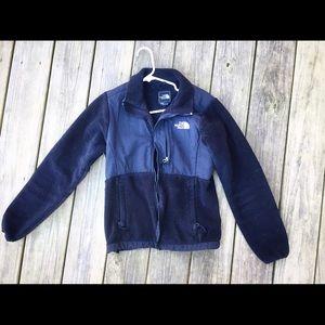 Black North Face fleece jacket, size Small.