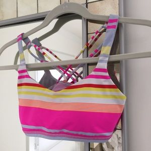 Lululemon Athletica workout bra top. XS