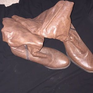 ea1e909c75 ... Tall brown boots size 9M ...
