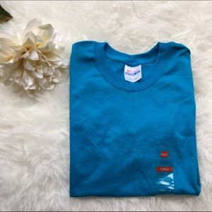 Hanes Tops - Turquoise T shirt