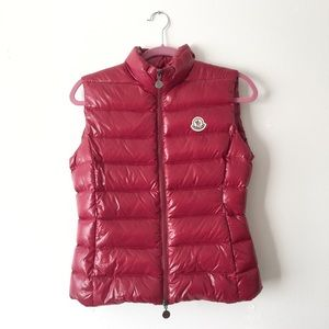 100% Authentic Moncler Puffer Vest