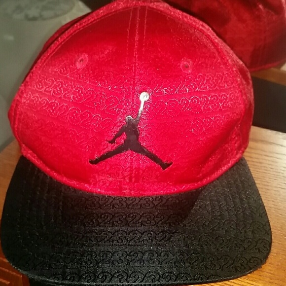 3573c72ffd8 Jordan Accessories   Red Toddler Adjustable Hat   Poshmark