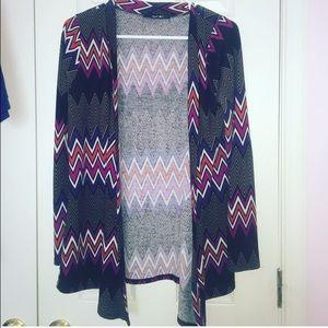 Charlotte Russe Sweaters - Aztec Print Cardigan