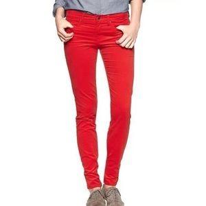 Women's Red Gap Jean Leggings on Poshmark