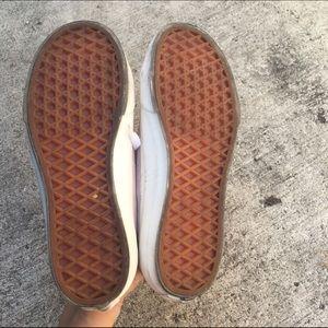 2f00a5fa86 Vans Shoes - Vans Pale Pink Suede Court Shoe Sz 5.5