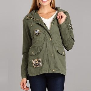 Jackets & Blazers - Military Vintage Urban Chic Jacket