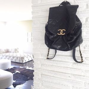 3bfe2bec156d CHANEL Bags - ❌sold❌Chanel Vintage Quilted Lambskin Backpack