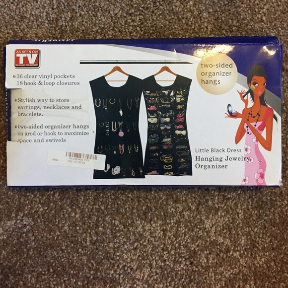 as seen on tv Jewelry Hanging Organizer Nwt Poshmark