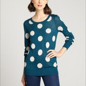 Willow and Clay polka dot sweater