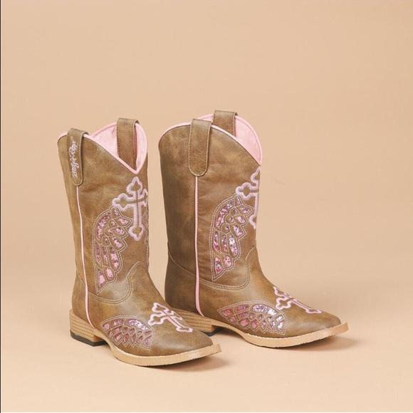 81ba3f95a67 Blazin Roxx Girls Cowboy Boots