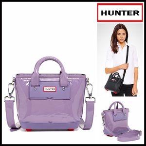 Hunter Handbags - HUNTER ORIGINAL Patent Leather MINI TOTE CROSSBODY