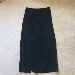 Xhilaration Dresses & Skirts - Black maxi skirt