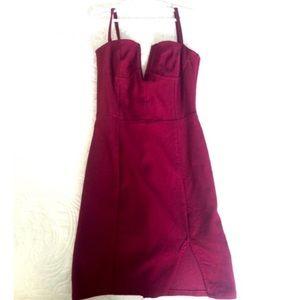 Red Tobi dress