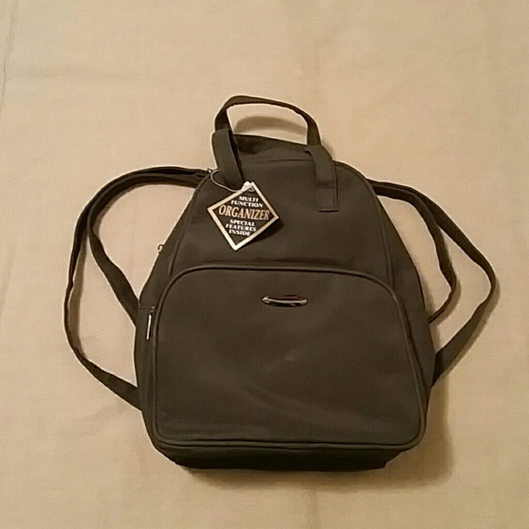 91af0f5d76 NWT small brown backpack w  organizer compartment