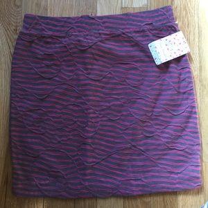 Free People Dresses & Skirts - NWT FREE PEOPLE Pink & Grey Mini Skirt