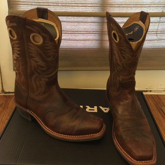 744602d4367 Men's Ariat Heritage Roughstock Boots
