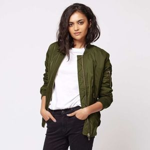 Claire Louise Boutique Jackets & Blazers - 1️⃣ left! - MA1 STYLE - Army Green Bomber Jacket