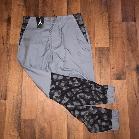 8ce475be28ccb7 New 36 Jordan Nike Camo Jogger Joggers Pants
