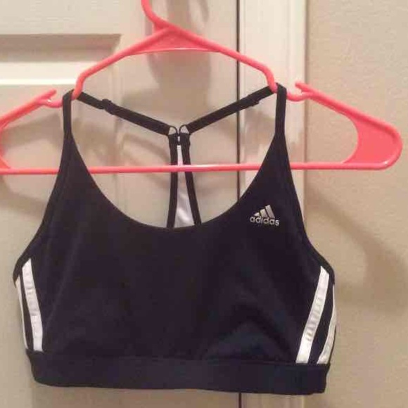 7d439ca4fa Adidas Climalite crop workout top (sports bra)