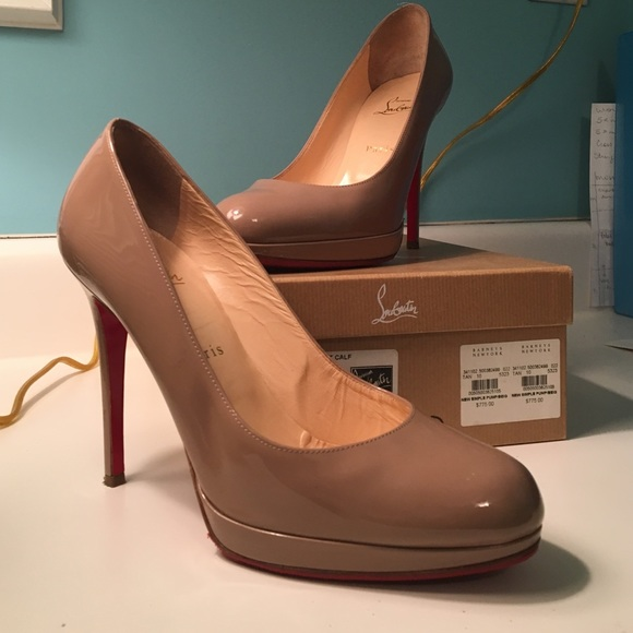 622706f2745 Christian Louboutin Shoes - Christian Louboutin New Simple Pump 120 Taupe