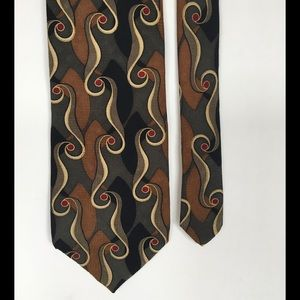 Mulberry Other - Silk tie, Art Deco theme!👍🎩made in USA 🇺🇸