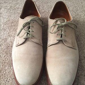 Allen Edmonds suede shoes