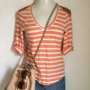 Banana Republic Tops - Banana Republic striped tee