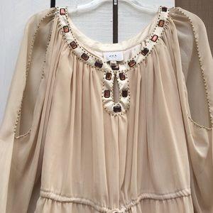 ECI Dresses & Skirts - ECI brand cream colored dress