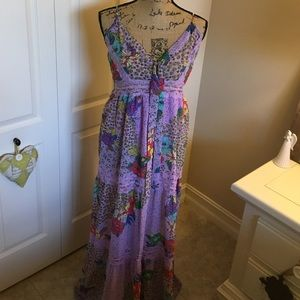 Super pretty flying tomato maxi dress large