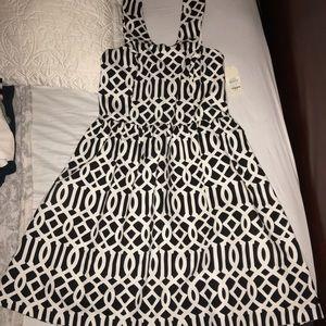 Mud Pie Dresses & Skirts - White and black dress NWT
