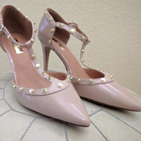 bc307ae7968 Halogen Shoes - BF Sale! Halogen  Martine  studded t-strap ...