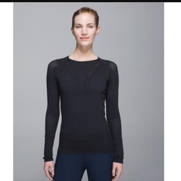 862602db37b9e0 lululemon athletica Tops | Lululemon Light Speed Long Sleeve Top ...