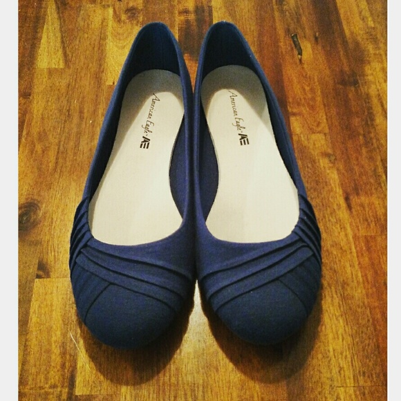 Navy Blue Flats Payless Shoes